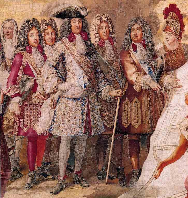 Ludwig der XIV. im Justaucorps