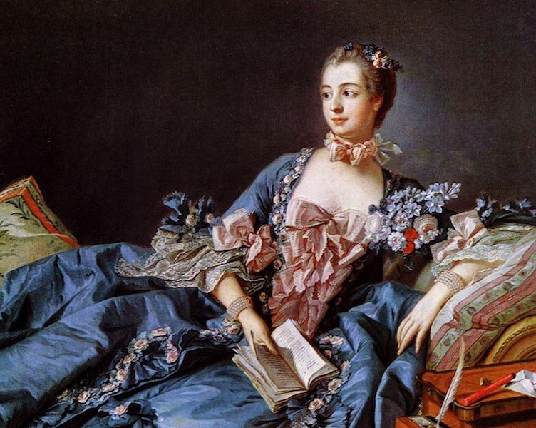 Portrait von Madame de Pompadour